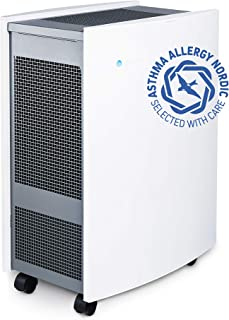 Blueair Classic 605空气清洁剂带颗粒过滤,HEPASilent过滤,真正高性能,适合灰尘、霉菌、 COPD、小空间、静音运行