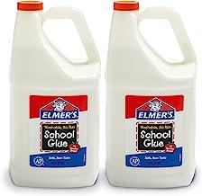 Elmer's Liquid School 膠水,可洗,1加侖(3.78升),2瓶——非常適合制造粘液