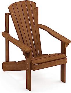 Furinno Tioman 硬木阿迪朗达克庭院椅 小号 FG18921