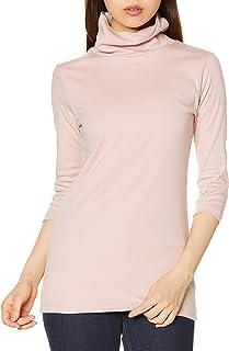 [SIECE] T恤 棉* 防紫外线宽松领T恤(七分袖) 光滑材质 AV-327 女士