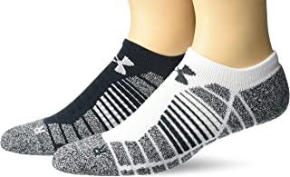 Under Armour 青年高尔夫高架性能隐形袜,2 双装