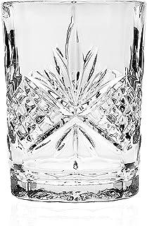 Godinger Silver Art Dublin 无铅水晶浴室玻璃杯