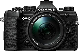 Olympus OM-D E-M5 Mark IIIV207091BU000  Body w/ 14-150mm Black Lens Kit 黑色