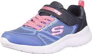 SKECHERS 斯凯奇 运动鞋 SNAP SPRINTS 女童 ペリウィンクル×マルチ 21.0 cm 2E