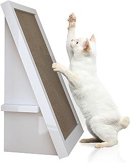 Way Basics 环保猫抓手,猫抓板,猫抓板有机猫抓板(采用可持续* zBoard 纸板制作) 白色