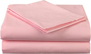 American Baby Company Percale 3 Piece Toddler Sheet Set, Pink