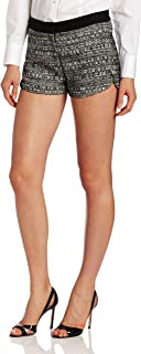 Robert Rodriguez 女士 Raffia 粗花呢短裤