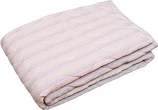 东京西川 床垫 单人 双面可用 柔软毛绒 清爽面料 棉* PM09000025 粉色 シングル PM09000025P