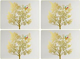 Sara Miller Portmeirion Chelsea 餐具垫,陶瓷,多色,31 x 40 x 2.4 厘米