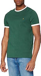 FARAH 男式 groves ringer T 恤
