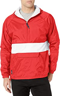 Charles River Apparel Men's Athletic Striped Pullover