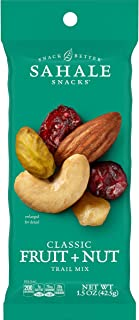 Sahale Snacks Grab & Go Classic Fruit & Nut Mix Caddy Pack, 1.5 Ounce, 9 Count