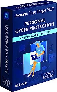 Acronis True Image 2021 | 1 PC/Mac | 永久许可证 | 个人网络保护 | 集成备份和*毒