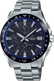 Casio 卡西欧 手表 OCEANUS CLASSIC LINE 搭载 电波太阳能手表 OCW-T3000A-1AJF 男款 银色