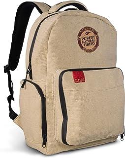 卷纸 x RAW 粗麻布背包 - 防异味 6 层设计带可锁定硅胶垫片双拉链