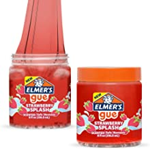 Elmer's GUE 預制史萊姆,草莓飛濺史萊姆,香味,2瓶裝