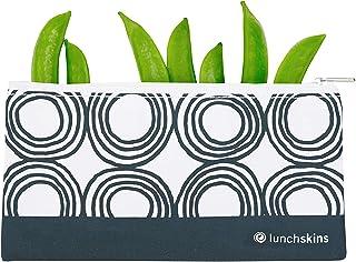 LunchSkins 食品袋 Charcoal Circles Snack Z-SM-CIRCLES-CHA
