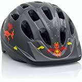 KIDS 自行车头盔 - 从幼儿到青少年尺码可调,适合 3-7 岁儿童 - 耐用儿童自行车头盔,带有趣水生设计的儿童自行…