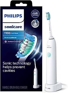Philips 飞利浦 Sonicare DailyClean 1100 可充电电动牙刷 白色 HX3411/04