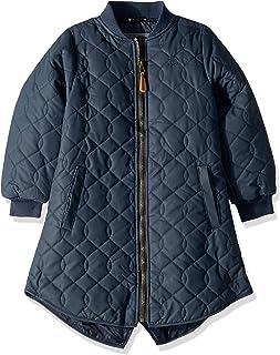 MIKK-Line - 麦尔登 女童夹棉冬季夹克,蓝夜,3-4 岁