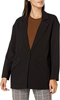 Armani Exchange 女士纹理斜纹商务休闲外套