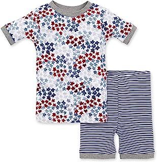 Burt's Bees 伯特的小蜜蜂婴儿睡衣,T 恤和裤子 2 件套睡衣套装,* *棉