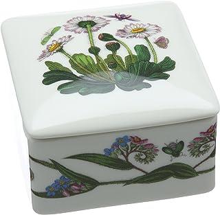 Botanic Garden 9.5 厘米瓷制方形饰品盒,多色