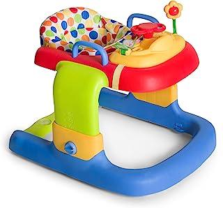 Hauck / 学步车 2合1 Walker / 6个月以上 / 步行带游戏中心和轮子/高度可调 / 点(彩色)