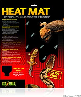 DBDPet 25.4 厘米 x 27.9 厘米中号爬行动物热垫 - 包括附带的Pro-Tip 指南 - 适用于球蟒蛇、网状蟒蛇、豹纹壁虎等!