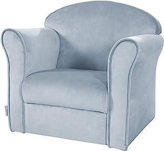 "roba 儿童扶手椅 ""Lil Sofa"" 带扶手,适用于男孩和女孩,舒适的迷你椅 Hellblau/Sky"