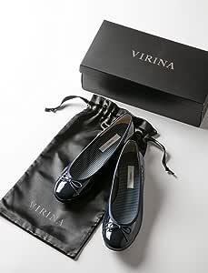 VIRINA 晴雨两用 孕妇女士兼用 芭蕾舞鞋 藏青色 24cm