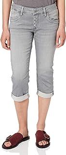 Mavi 女式 Alma 直筒牛仔裤