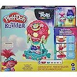 Play-Doh Builder DreamWorks Trolls 世界巡回演唱会气球玩具积木套装,适合 5 岁及以上…