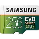 Samsung 三星 EVO Select 256 GB microSD 100MB/s 速度,全高清&4K UHD 存…