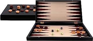 Aquamarine Games - Backgammon 黑色系列,黑色(compudid S.L CP033)