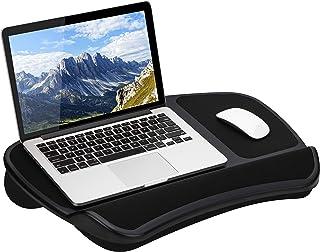 LapGear 原装 XL 笔记本电脑膝上桌 带存储口袋 - 黑色 - 款式编号 45592