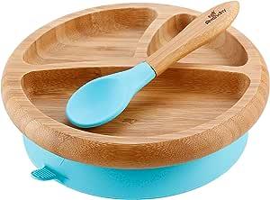 Infant Plates Parent 蓝色