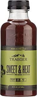 Traeger Pellet 烤架 SAU038 甜和加热烧烤酱