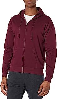 Hanes Men's Full-Zip EcoSmart Fleece Hoodie