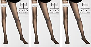 (厚木)ATSUGI 连裤袜 ASTIGU 紧身裤袜 〈3双装〉