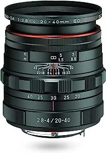 PENTAX Limited Lens 标准变焦镜头 HD PENTAX-DA20-40mm F2.8-4ED Limited DC WR