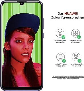 HUAWEI 華為 P smart+ 2019 Dual-Sim 智能手機(顯示屏 6.21 英寸 64GB 內存 3GB 內存 Android 9.0) 免費 16 GB 存儲卡 + 藍牙 MiniCM510 黑色51093TLH Smart...