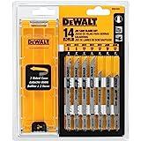 DEWALT dw3742 °C 14 PC t-shank JIG SAW BLADE set W / 手机壳, 无…