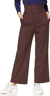 Snidel 高腰保暖阔腿裤 SWFP205087 女士