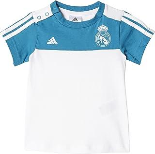 Real Madrid 中性款 儿童 3 条纹夏季套装 皇家马德里运动服