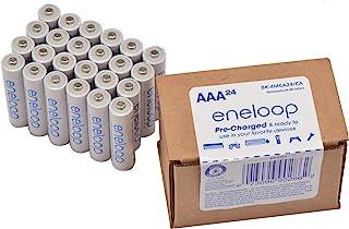Panasonic 松下电器 BK-4MCA24 / CA eneloop AAA 2100 循环镍氢预充电7号电池,24件装