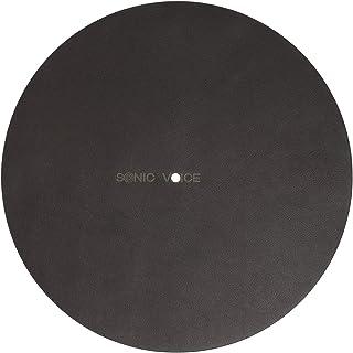 Sonicvoice 转盘顶盖采用优质棕色,苯胺染色真皮制成,打造精致清晰的音频体验