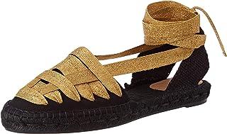 Castañer 女式 Chiara/8/001 帆布鞋