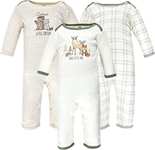 Hudson Baby 中性款婴儿棉质连体服和连体服