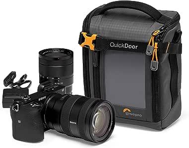 Lowepro GearUp Creator Box 中号 II 无反光数码单反相机包 - 带快速门接入 - 带可调节隔板 - 适用于索尼 Alpha 6500 - LP37347-PWW